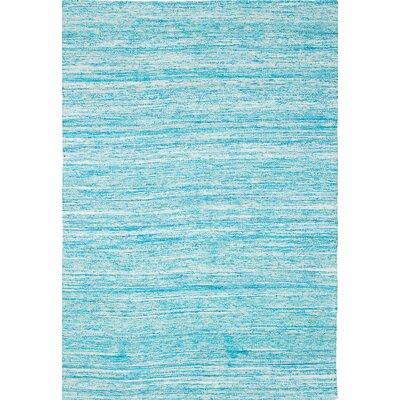 Sari Hand-Woven Baby Blue Area Rug