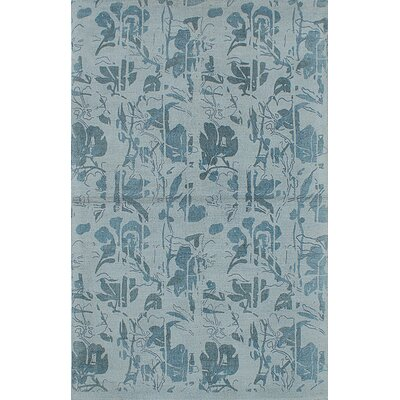 Moreau Hand-Tufted Light Blue Area Rug