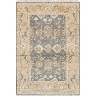 Royal Ushak Hand-Woven Dark Gray Area Rug