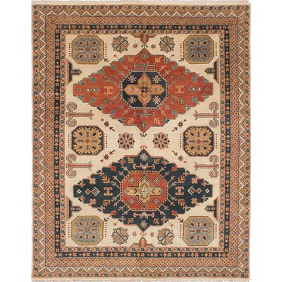 One-of-a-Kind Serapi Heritage Hand-Woven Cream Area Rug