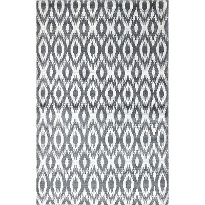One-of-a-Kind Graver Hand-Woven Cream/Gray Area Rug