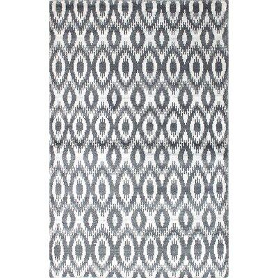 Jules Ushak Hand-Woven Cream/Gray Area Rug