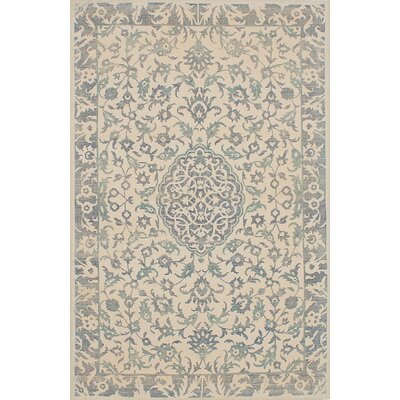 Elina Hand-Tufted Cream Area Rug