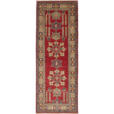 Bernard Hand-Woven Cream/Red Area Rug
