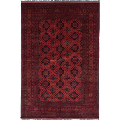 One-of-a-Kind Rosales Hand-Woven Dark Copper Indoor Area Rug