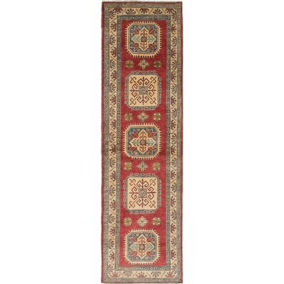 One-of-a-Kind Bernard Hand-Woven Cream/Dark Copper Area Rug