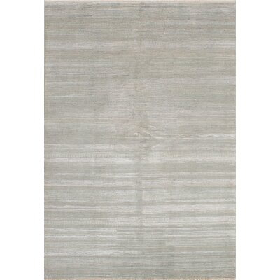 One-of-a-Kind Shevra Hand-Woven Gray Area Rug