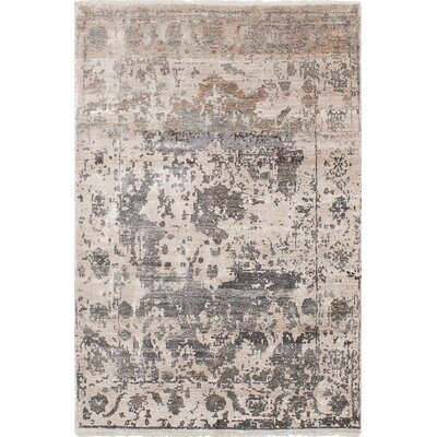 One-of-a-Kind Elixir Hand-Woven Ivory Area Rug