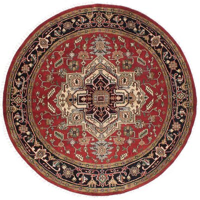 One-of-a-Kind Serapi Heritage Hand-Woven Red Area Rug