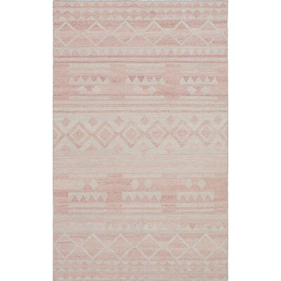 Tribeca Hand-Woven Brown/Gray Area Rug Rug Size: 5 x 8