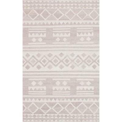 Tribeca Hand-Woven Beige Area Rug Rug Size: 8 x 10