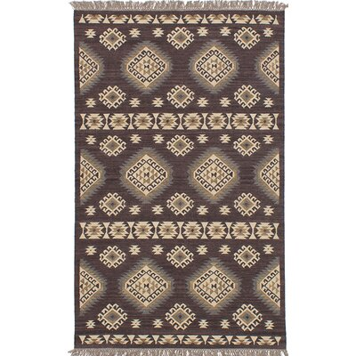Izmir Hand-Woven Gray/Brown/Beige Area Rug