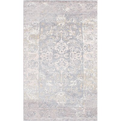 Monterey Hand-Knotted Blue/Beige Area Rug