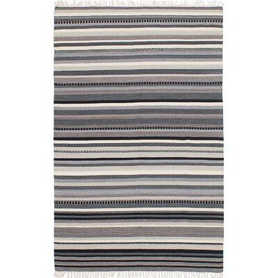 Izmir Hand-Woven Black/Gray Area Rug