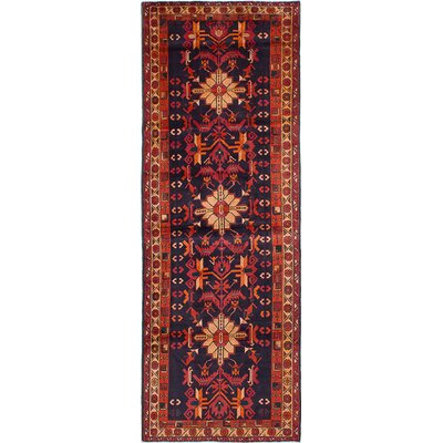 Brooke Hand-Knotted Red Area Rug