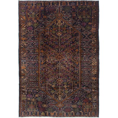 Brownes Hand-Knotted Dark Navy Area Rug