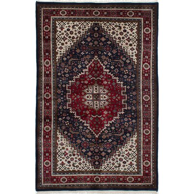 Bijar Hand-Knotted Red/Brown Area Rug
