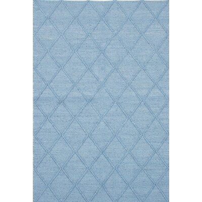 Diamond Handmade Blue Area Rug