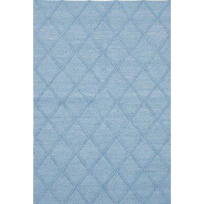 Diamond Handmade Blue Area Rug