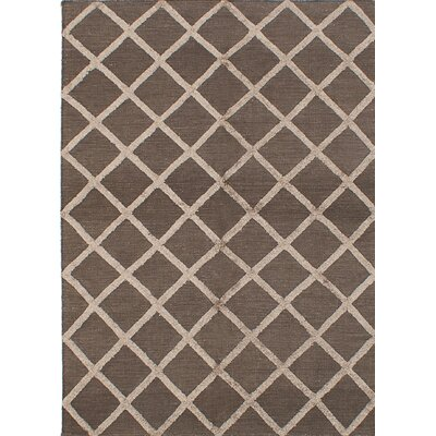 One-of-a-Kind Bonefield Handmade Silk Gray Area Rug