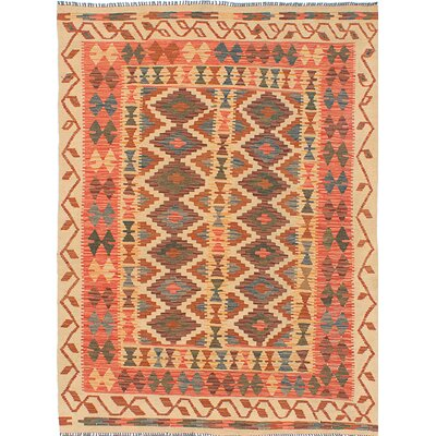 Olmsted Hand-Woven Orange Area Rug