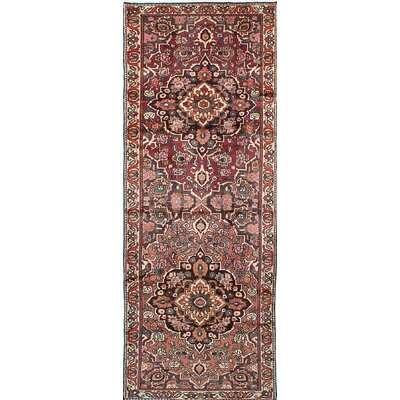 Bakhtiar Hand-Knotted Brown Area Rug