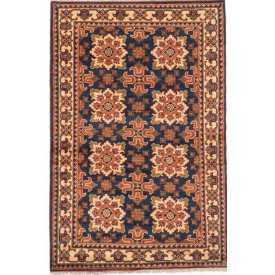 One-of-a-Kind Bunkerville Hand-Knotted Blue/Orange Area Rug