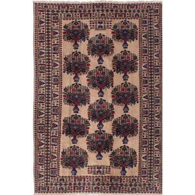 One-of-a-Kind Mcdorman Hand-Knotted Beige/Blue Area Rug