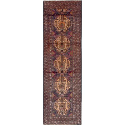 Brownes Hand-Knotted Brown Area Rug