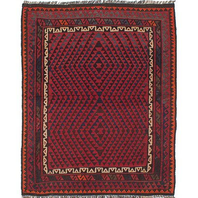 Bruntons Hand-Woven Red Area Rug