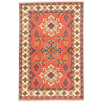 Bunkerville Hand-Knotted Brown/Red Area Rug