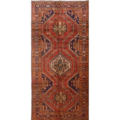 One-of-a-Kind Bilboroughs Hand-Knotted Brown Area Rug