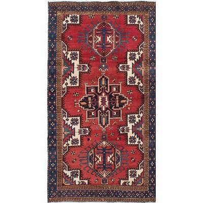 Brookmere Hand-Knotted Red Area Rug