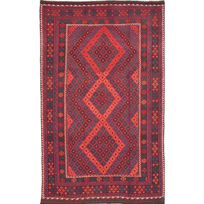 Bruntons Hand-Woven Red Area Rug