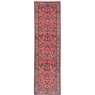 One-of-a-Kind Boothe Hand-Knotted Red Area Rug