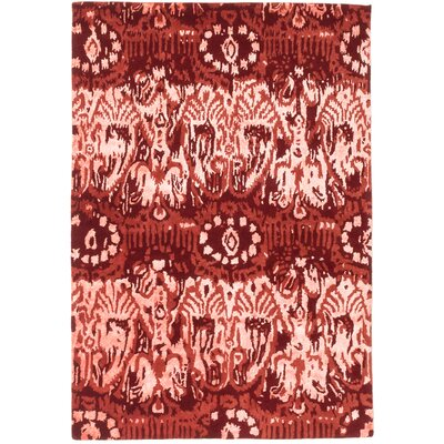 Cosmopolitan Hand-tufted Copper Area Rug