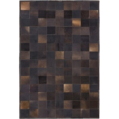 Santiago Handmade Black/Dark Brown Area�Rug