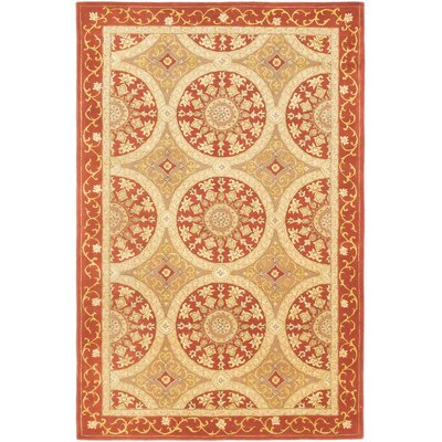 Classic Hand-Tufted Beige/Copper Area�Rug