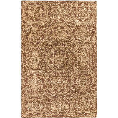 Timeless Hand-tufted Brown Area�Rug