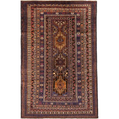 Finest Rizbaft Hand-Knotted Beige/Brown Area Rug