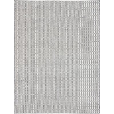 Rosemarie Hand-Woven Cream/Dark Gray Area Rug