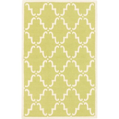 Kasbah Hand-tufted Emerald Green Area Rug