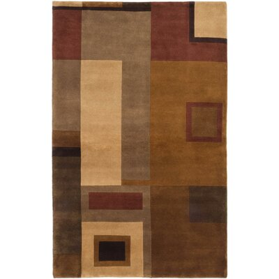 One-of-a-Kind Aurora Hand-Knotted Beige/Light Brown Area Rug
