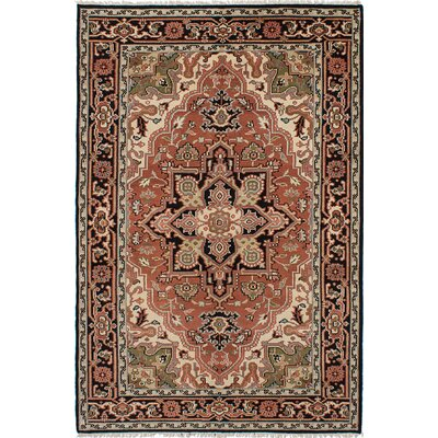 Larsen Hand-Knotted Copper Area Rug