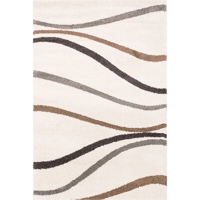 Ivory Area Rug Rug Size: 79 x 10
