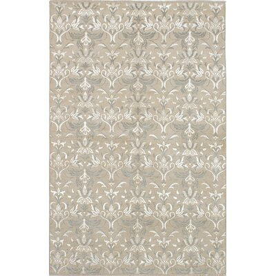 Shevra Hand-Knotted Tan/Gray Area Rug