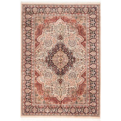 One-of-a-Kind Kashmir Hand-Knotted Area Rug