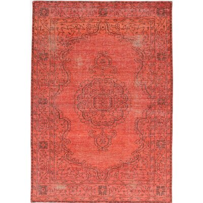 Brewster Hand-Knotted Light Red Area Rug