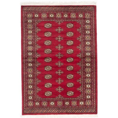 One-of-a-Kind Olney Springs Red Area Rug