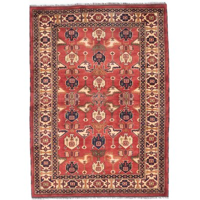 Bunkerville Hand-Knotted Brown Area Rug
